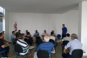 Palestra com o instrutor Ricardo Fleck